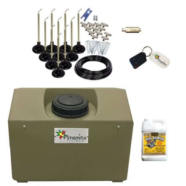 Pynamite 10 Gal Mosquito Misting System With 10 Nozzle Kit
